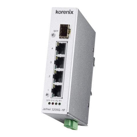Endüstriyel Gigabit Ethernet Switch - JetNet 3205G-1F