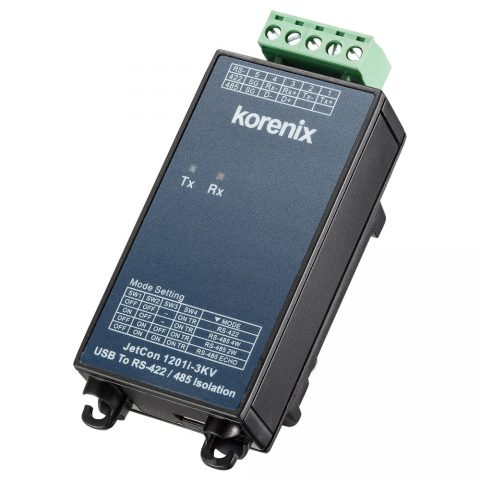 USB - RS-485 Seri Çevirici - Korenix JetCon 1201