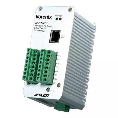 Thermocouple Input Ethernet I/O Server
