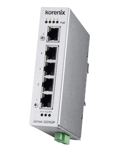 Endüstriyel Gigabit PoE Switch