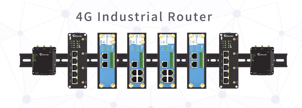 Endüstriyel Ekonomik 3G 4G LTE Router