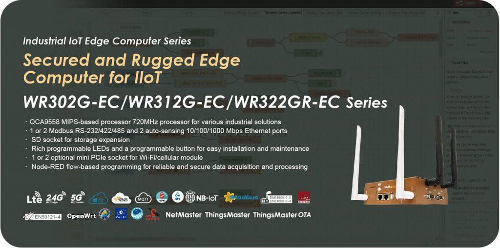Endüstriyel Programlanabilir IoT Router